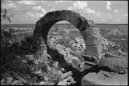 Guerrero Viejo, 1995; Black and white film