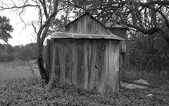 Fredericksburg, 1994; Black and white film