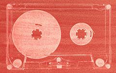 Cassette, 2009; Gum bichromate print