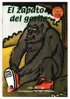El Zapato del Gorila - Cover, 1999; Linoleum block print and watercolor