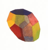 Fourteen No. 1, 2011; Watercolor on paper