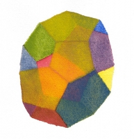 Fourteen No. 2, 2011; Watercolor on paper