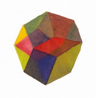 Twelve No. 2, 2011; Watercolor on paper